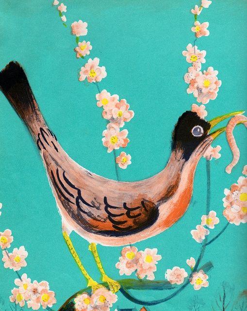 Hi, Mister Robin! -  Illustrated by Roger Duvoisin (1950)