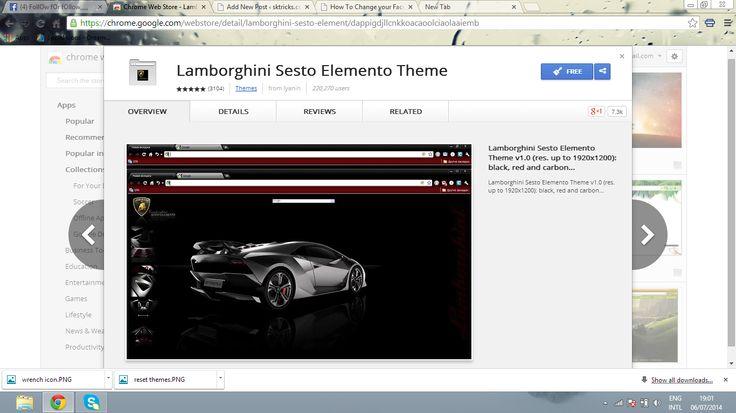 Steps To Change Google Chrome Themes.