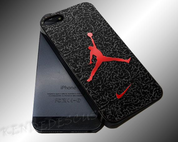iphone 5c jordan case nike air logo custom iphone 4 4s 5c 5s 5 by 14671