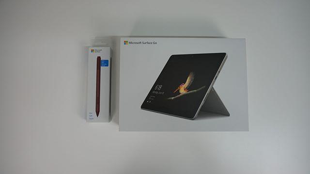 Surface Go Von Microsoft Ch Mit Stift Und Tastatur Mobiles Kleines Buro Bin Mal Gespannt Auf Meinen Test Gadget Microsoft Tablet Tastatur Stifte Tablet