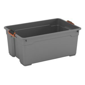 Form Flexi-Store Grey Large 45L Plastic Storage Form Flexi-Store Grey Large 45L Plastic Storage Basket.The ultra tough storage boxes are a great heavy duty storage option. Make the box work for you by completing it with the lid  accessories sold s http://www.MightGet.com/april-2017-1/form-flexi-store-grey-large-45l-plastic-storage.asp
