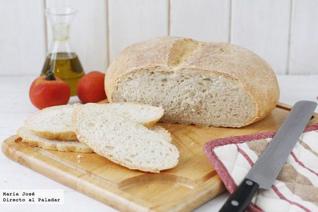Cómo hacer pan de pueblo. Receta