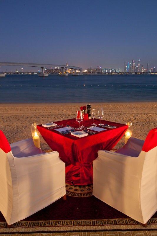Romantic dinner at ATLANTIS, THE PALM Dubai