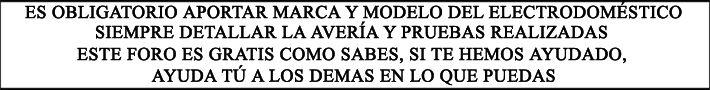 REPAR@ TU MISMO - FORO - lavavajillas Balay 3VI-434 A no calienta y no avanza programa - FORO PRINCIPAL de ELECTRODOMESTICOS - LAVADORAS - S...