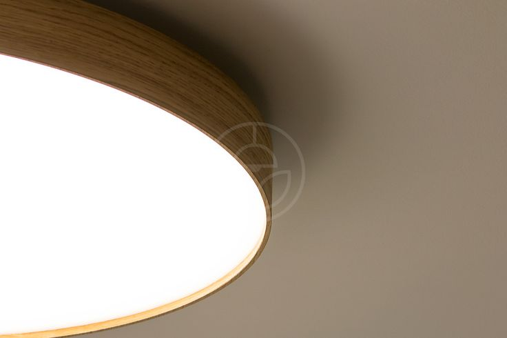 WoodLED ROUND series remodelled into new ceiling lamp serie SOFT.