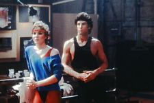 1983 35mm slide NEGATIVE Cynthia Rhodes and John Travolta,from Staying Alive