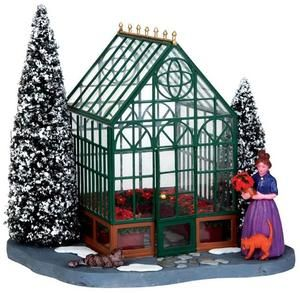 Victorian Greenhouse - Lemax Christmas Village Accessory U$23 - 2013