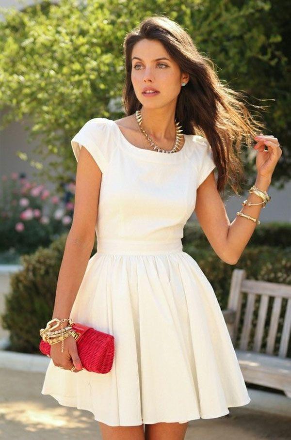 Este vestido é um charme para o casamento civil!