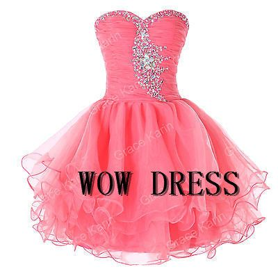 2014 Organza Beading Sweetheart Short  Evening Dress/Party Dress/Cocktail Dress/Homecoming Dress/Short Prom Dress on Etsy, $128.00
