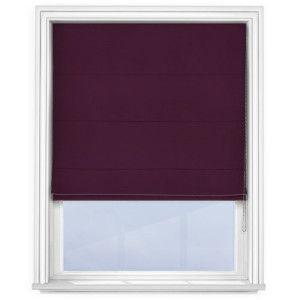 cheap-purple-roman-blind