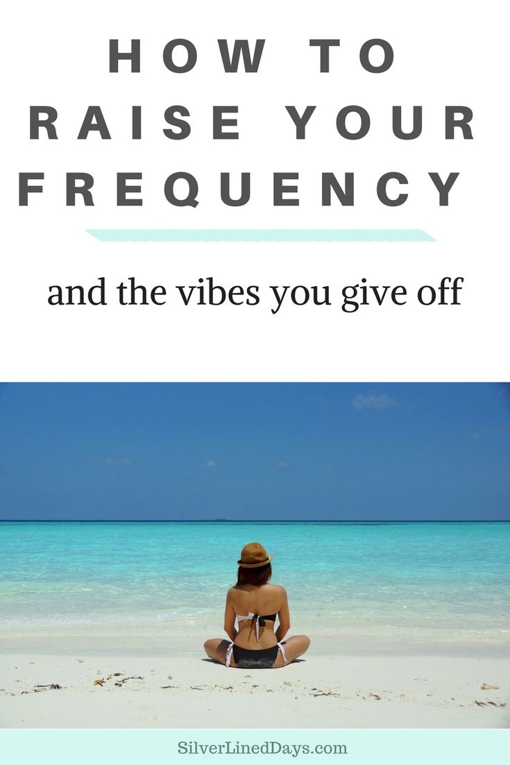 Raise your vibrations to match the frequency of where you want to go in life. By taking small but consistent steps each day, you allow yourself to attract who and what you want into your life!