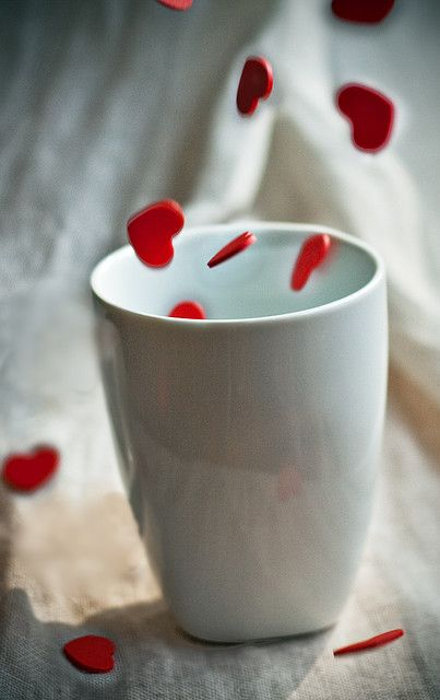 HEARTS~a cup full of love