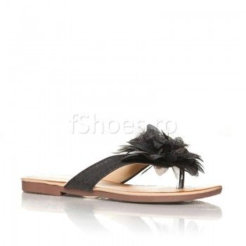 Papuci Penna - Negru