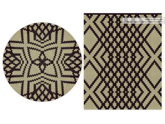 Wayuu PATTERN Set of wayuu mochila patterns Tapestry crochet pattern CHARTED pattern