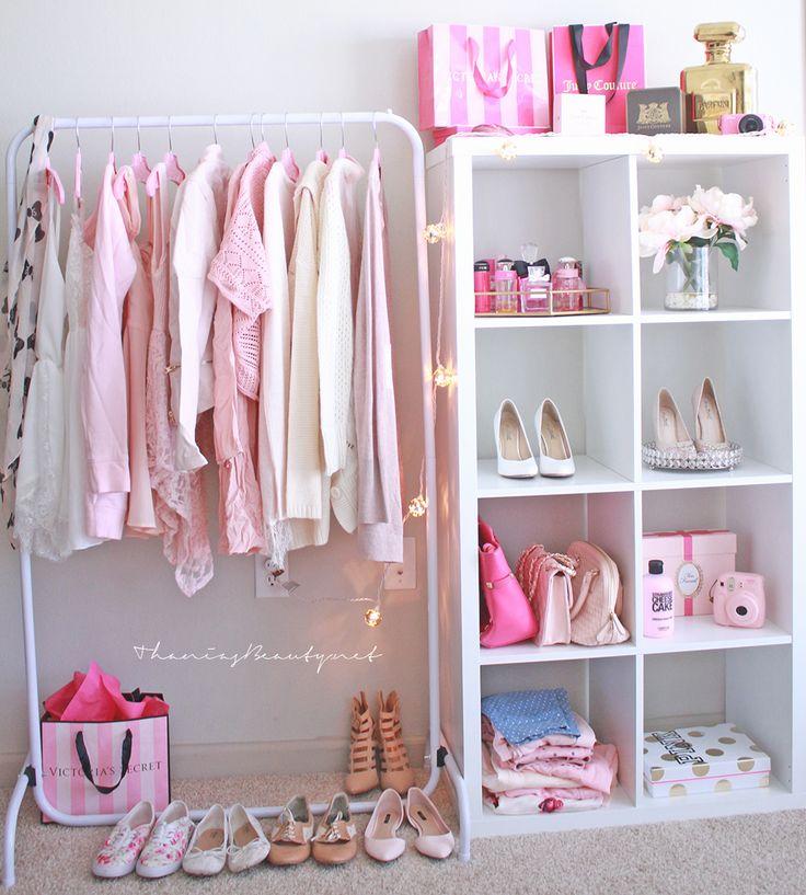Imagem de pink, closet, and clothes