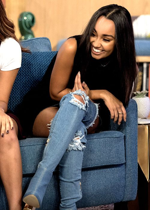 Leigh Anne looks super good but I hate those boots
