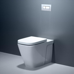 - Toilet Suites - Caroma Cube Wall Faced Invisi Series II Suite