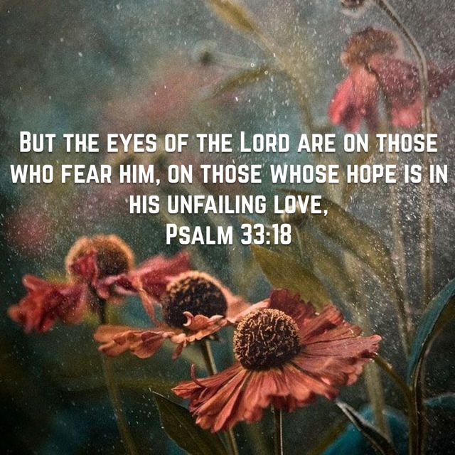 Psalm 33:18                                                                                                                                                      More
