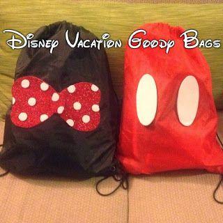 Disney Vacation Goody Bags