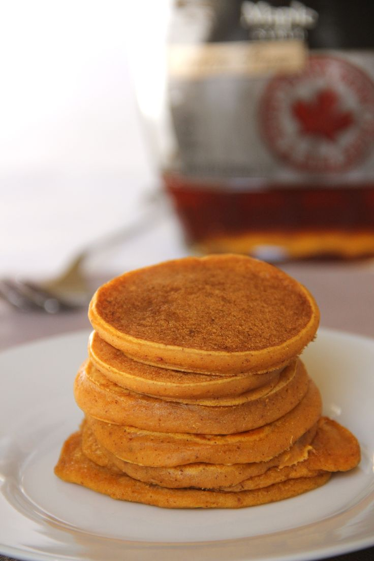 Vegan pumpkin pie pancakes. use non dairy milk of course. look at ...