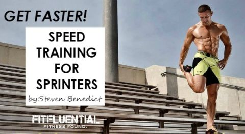 Speed training for sprinters
