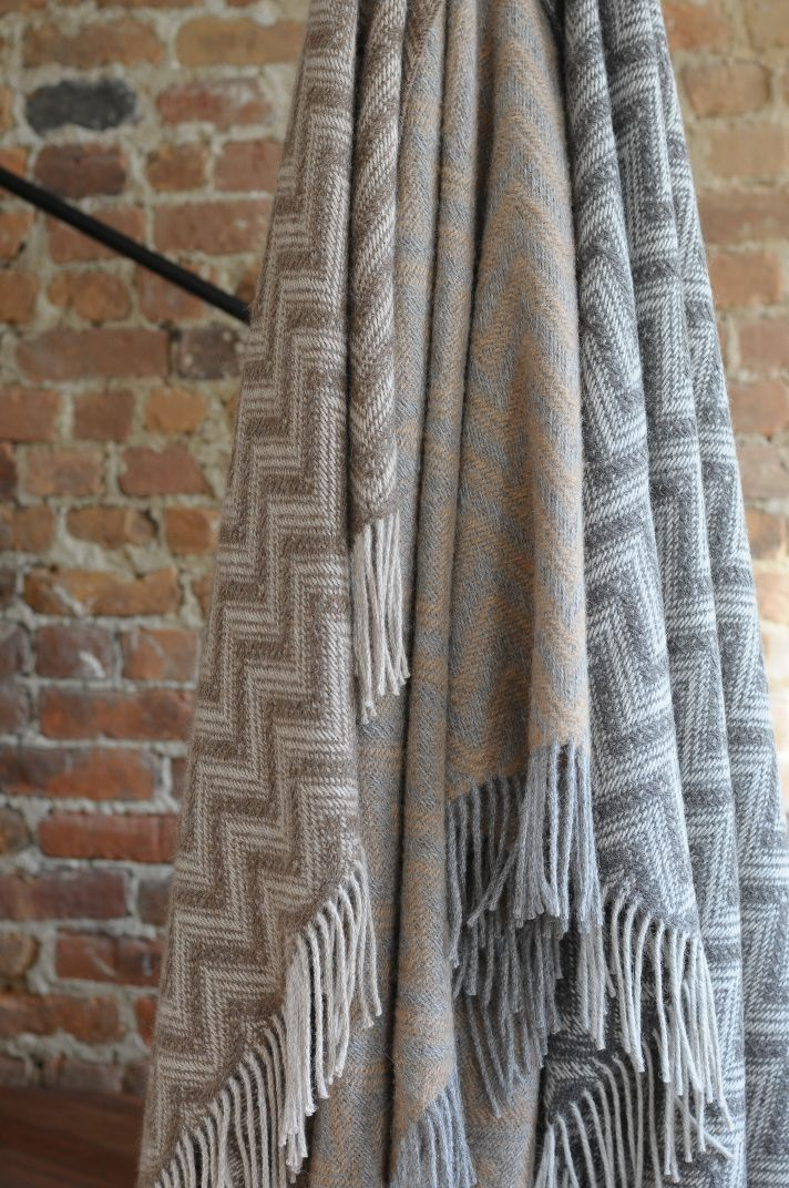#LinenWay #Throws #BabyAlpaca #Baby Alpaca throws #Eco-Friendly Throws #Eco-Friendly #Knit Throws #Knit #Soft Throws #Chevron Pattern