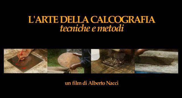 Written and directed by Alberto Nacci Technical-artistic consultant  Mario Benedetti Inserts by Carlo Bertelli, Alberto Veca, Mario Benedetti, Giorgio Upiglio Music by Alberto Nacci and Alessandro Fabiani Produced by Alberto Nacci / AJP Studio Go to www.calcografia.org to see more.  A movie by Alberto Nacci dealing with the art of chalcography The characters: master's hands, the plate, the paper, the roll, the ink. The film passes in a deep silence which gets cut off only by the …