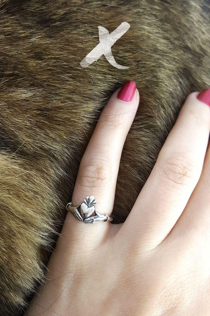 Claddagh ring in 2020 irish wedding rings silver