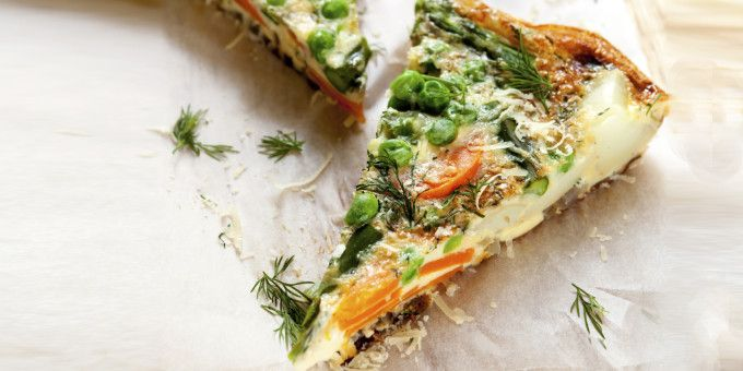 Throw this together using the scraps in your fridge. This Fridgalicious Frittata will work no matter what ingredients you use.
