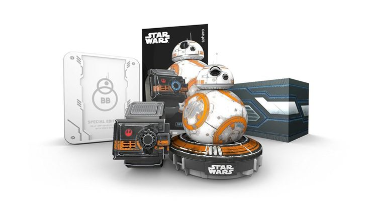 Sphero Special Edition BB-8 App-Enabled Droid with the Force Band. Buy at http://amzn.to/2dXClAk