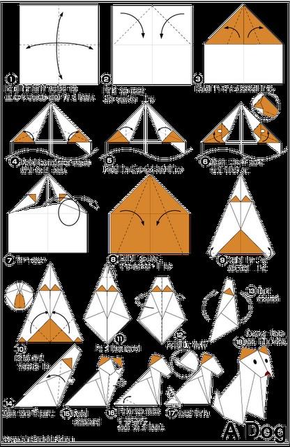 Origami Dog tutorial