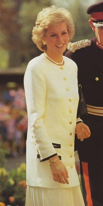 Princess Diana in Northamptonshire