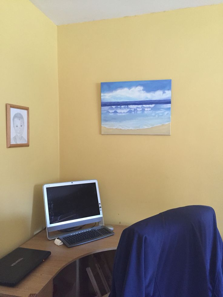 Painting all dry and hung up!