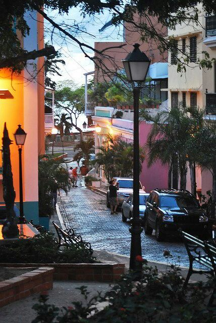 Old San Juan Streets, PR