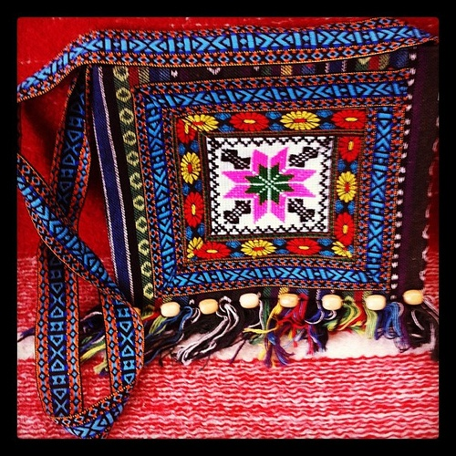 Bag crafts of Maramures, Romania #intercer #romania #craft