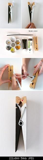 DIY Wedding Clothespin