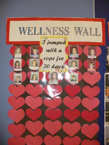 Pretty neat bulletin board. check out this wellness wall. http://www.pecentral.org/bulletinboard/ViewBulletinBoard.asp?ID=1861