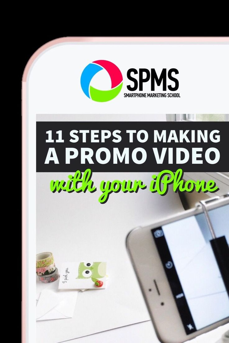 Make a promo video for your business with your iPhone with these 11 steps