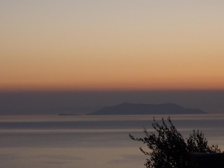 Gyaros island, Aegean sea, Greece