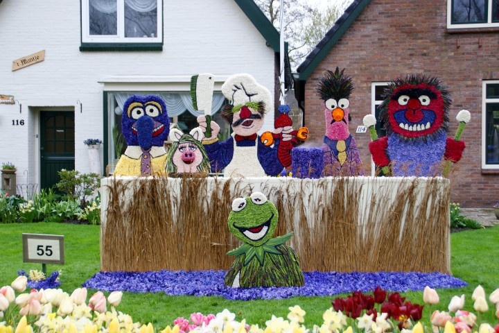 The muppets. Kampioen werkstukken 2012.