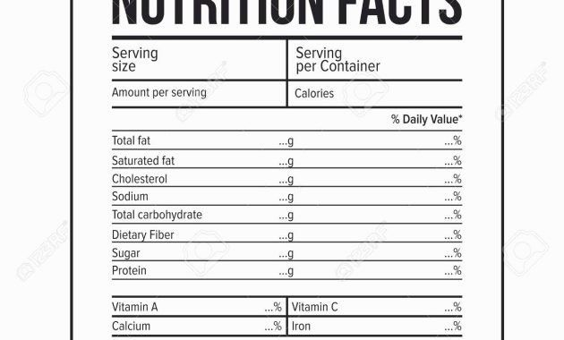 Nutrition Facts Label Template Beautiful Nutritional Facts Generator Blog Dandk Nutrition Facts Label Nutrition Facts Label Template Nutrition Facts