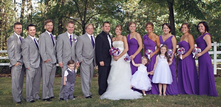 Best 25 grey purple wedding ideas on pinterest for Purple and grey wedding dresses