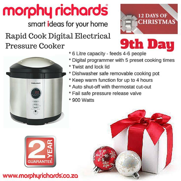 9th Day - Digital Pressure Cooker