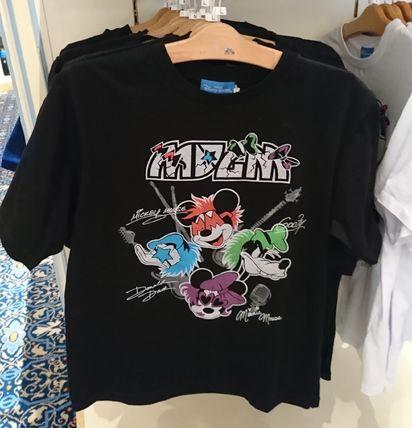 東京ディズニーリゾート ロックバンド MDDM Tシャツ 黒 S〜L