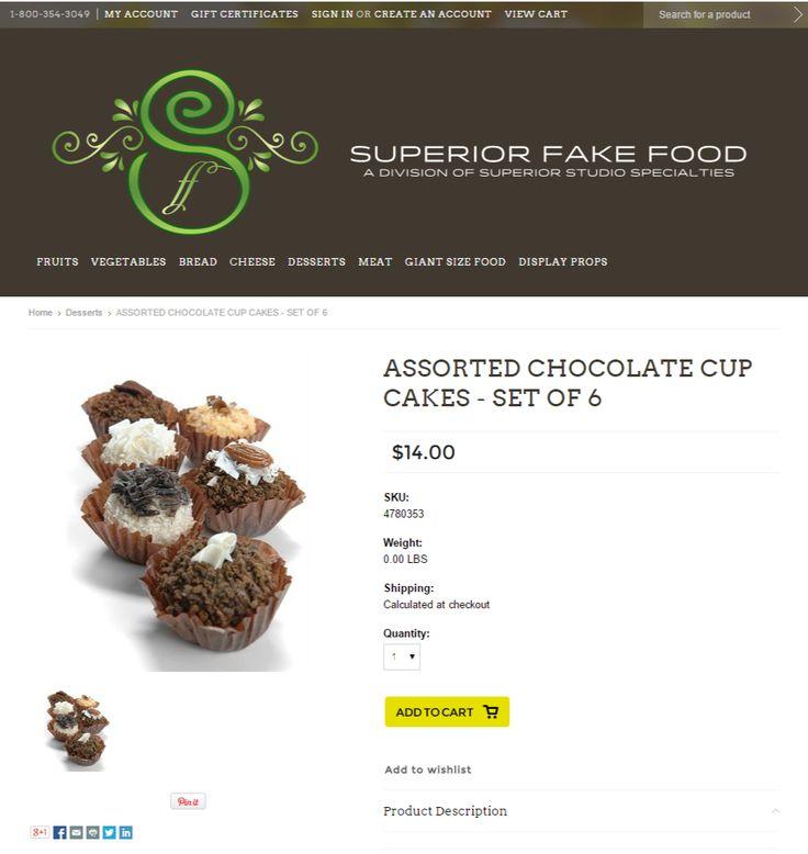 Superior Fake Food Website