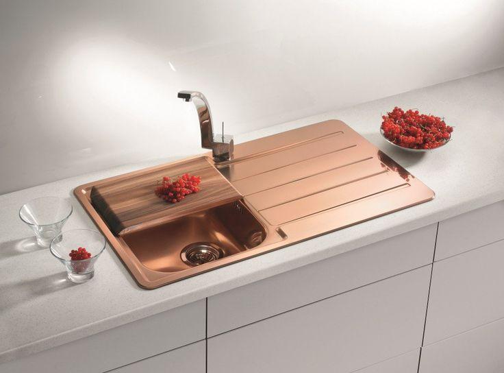 Alveus Monarch Line 20 Copper, inset sink - A FACTORY SECOND