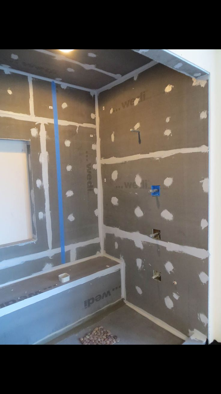 Using Wedi Board in shower and thinking a header like this would be nice