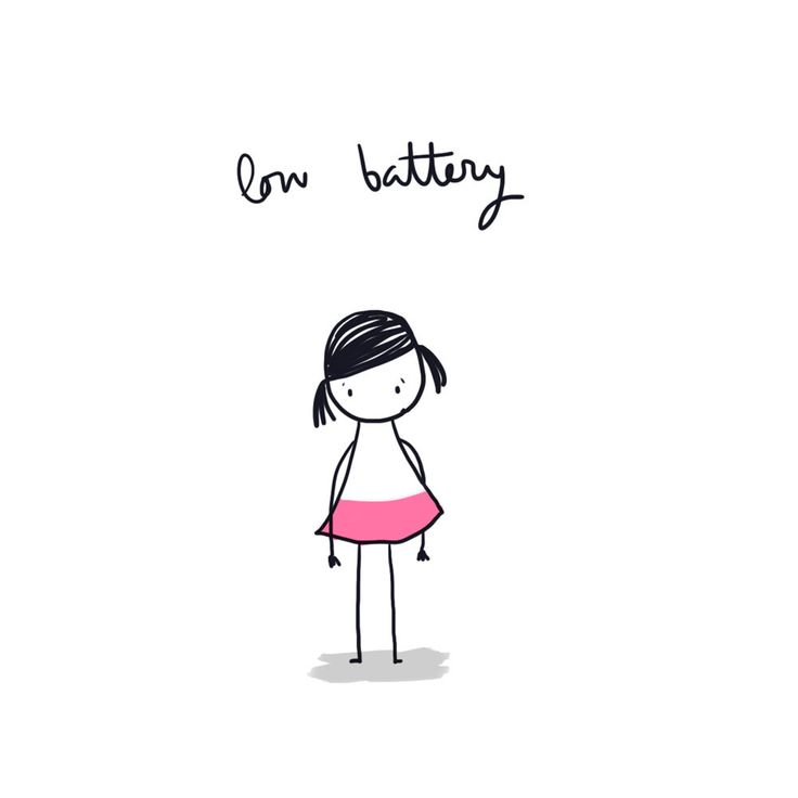 Low Battery, by Lyona. Always trying to explain this one. No one seems to understand