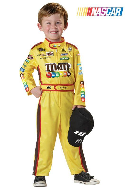 Nascar Kyle Busch Toddler Costume #halloween #costumes