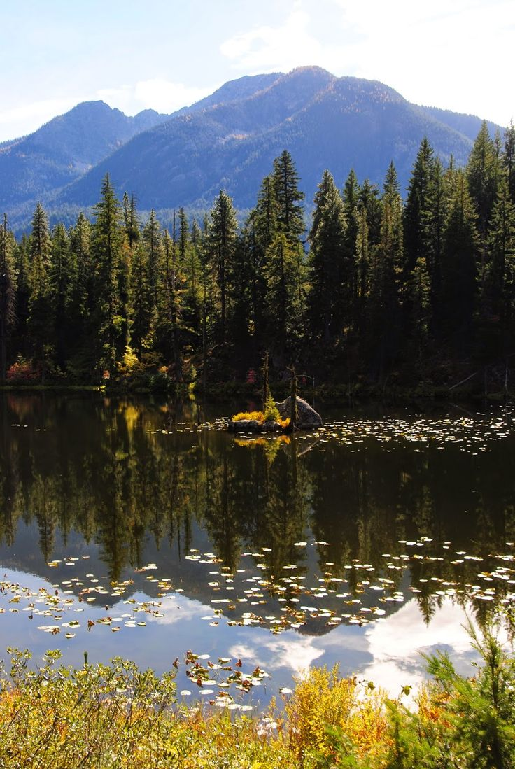 Last Days of the Pacific Crest Trail,  North Cascades, Coon Lake
